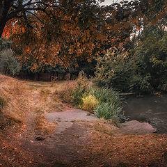 "фото ""Вдоль реки по Осени"""