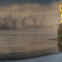 """фото """"""""КРАСИН"""" и туман"""""""