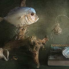 "фото ""Рыба на дереве"""