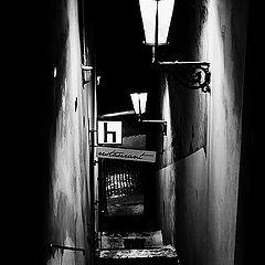"""фото """"Ночные фонари a лестница"""""""