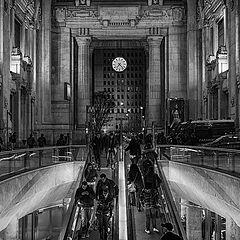 "photo ""Milano, Central Station"""