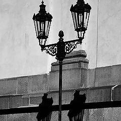 "фото ""Фонари a тени"""