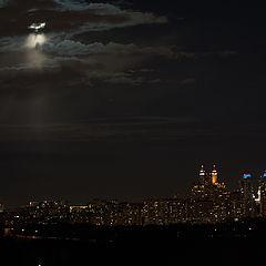 """фото """"Луна ушла..  :-("""""""