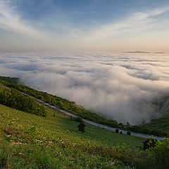 "photo ""The road into the clouds"""