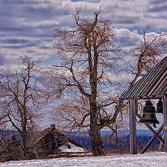 """фото """"Русский пейзаж. Дерево Бодхи."""""""