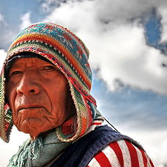 "фото ""шаман племени Аймара"""