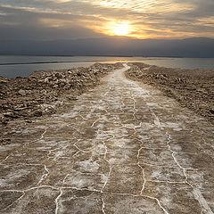 """photo """"утро на Мертвом Море"""""""