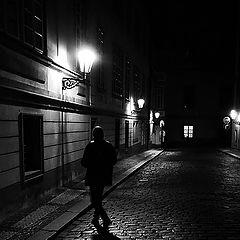 """фото """"Hочной пешеход"""""""