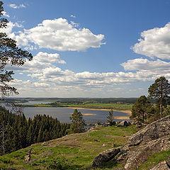"""фото """"Вид на озеро Кармаланъярви"""""""