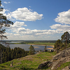 "photo ""Lake view Karmalanyarvi"""