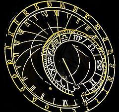 """фото """"Ночные aстрономические часы"""""""
