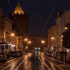 """photo """"Golden rain"""""""