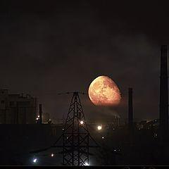 "photo ""Apocalyptic moonrise"""