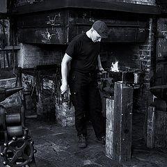 "фото ""The blacksmith"""