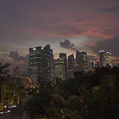 """фото """"Tropical sunset"""""""