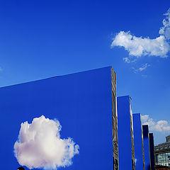 """фото """"девушка, небо, облака"""""""