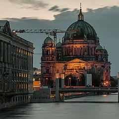 """фото """"Вечер на Шпрее, Берлин сегодня..."""""""