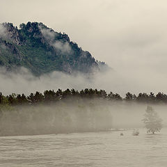 """фото """"Туман над Катунью"""""""