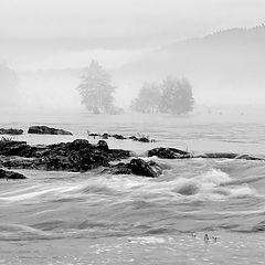 """фото """"Черно-белая река"""""""