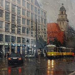 "photo ""Rain in Berlin"""