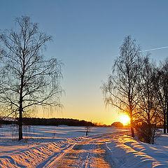 """фото """"Вслед уходящему солнцу."""""""