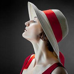 """photo """"Olga in Red"""""""