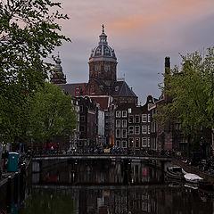 "фото ""Evening Amsterdam."""