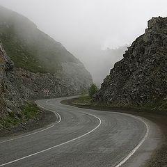 """фото """"За поворотом спрятался туман..."""""""