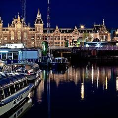 """фото """"Ночной Амстердам."""""""