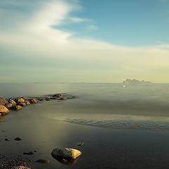 """фото """"Пейзаж с островом"""""""