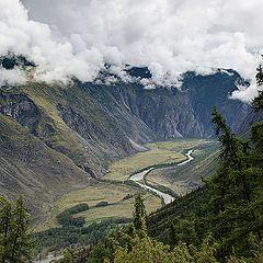 """фото """"Горный Алтай. Долина реки Чулышман. На следующий день..."""""""
