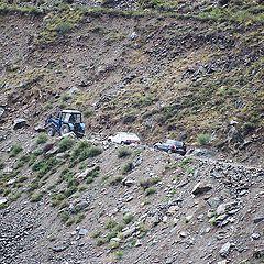 """фото """"Дорога на перевал Кату-Ярык. Как это делается..."""""""