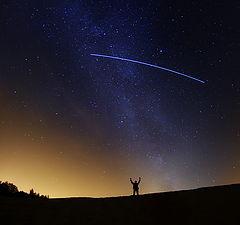 """фото """"дотянуться до звёзд"""""""