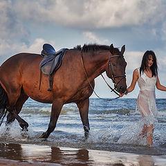 "фото ""Идущие по волнам..."""