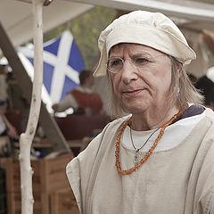 """фото """"Женщина средневековой Германии. Стилизация."""""""