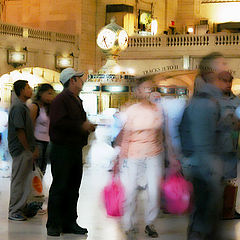 "photo ""Grand Central People"""