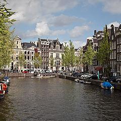 """фото """"Городской пейзаж. Амстердам."""""""
