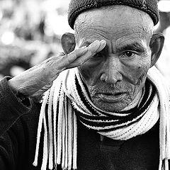 """фото """"Вьетнамский ветеран всегда в строю..."""""""