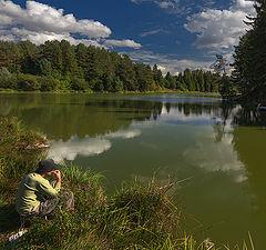 "фото ""Летняя рыбалка"""