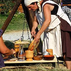 """фото """"Preparing lunch in outlawry"""""""