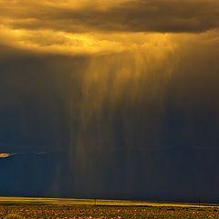 """фото """"Монголия. Начало дождя."""""""