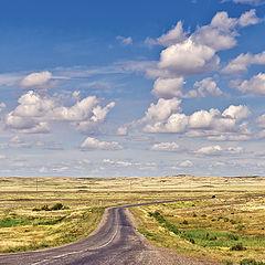 "фото ""Дороги Казахстана..."""