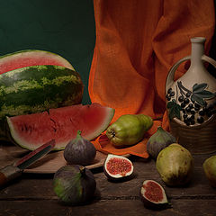 "photo ""Watermelon and pears"""