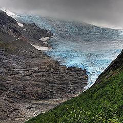 "фото ""Голубой ледник"""