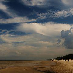 "photo ""September beach"""