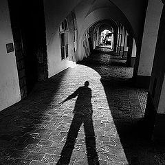 """фото """"Aркада и мой тень"""""""