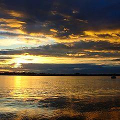 """photo """"Siberian sunset"""""""