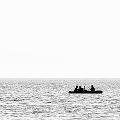 "фото ""Трое в лодке..."""