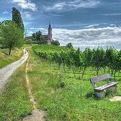 """фото """"Боденское озеро, Бирнау, Барочная церковь..."""""""