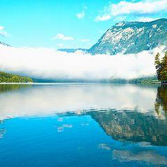 """фото """"Bohinj jezero"""""""